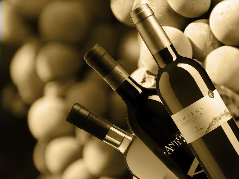 bottiglie vino cantina trexenta