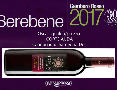 Gambero Rosso Berebene 2017 – Oscar Corte Auda