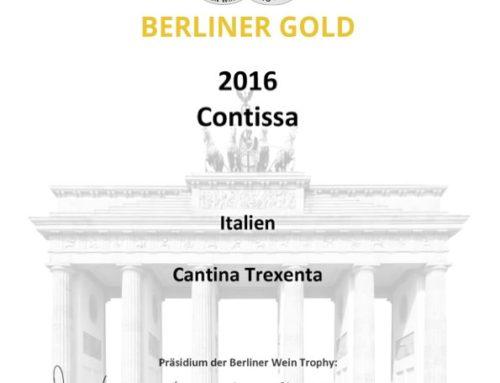 Berliner Wein Trophy 2016 – Gold Contissa