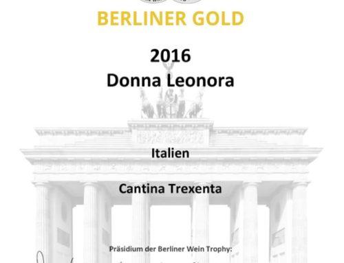 Berliner Wein Trophy 2016 – Gold Donna Leonora