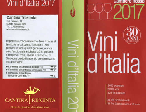 Gambero Rosso Vini d'Italia 2017 – Cannonau di Sardegna