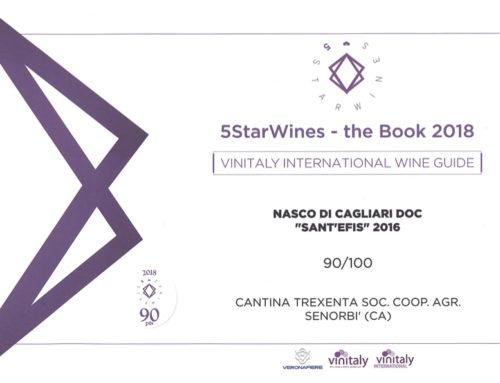 """Nasco di Cagliari DOC """"Sant'Efis"""" 2016"""