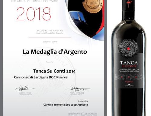 Tanca su Conti 2014 Cannonau di Sardegna DOC Riserva – La Medaglia d'Argento