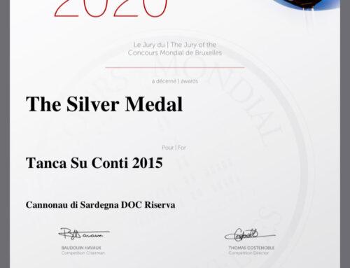 Award Cannonau di Sardegna DOC Riserva
