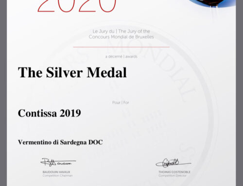 Award Vermentino di Sardegna DOC